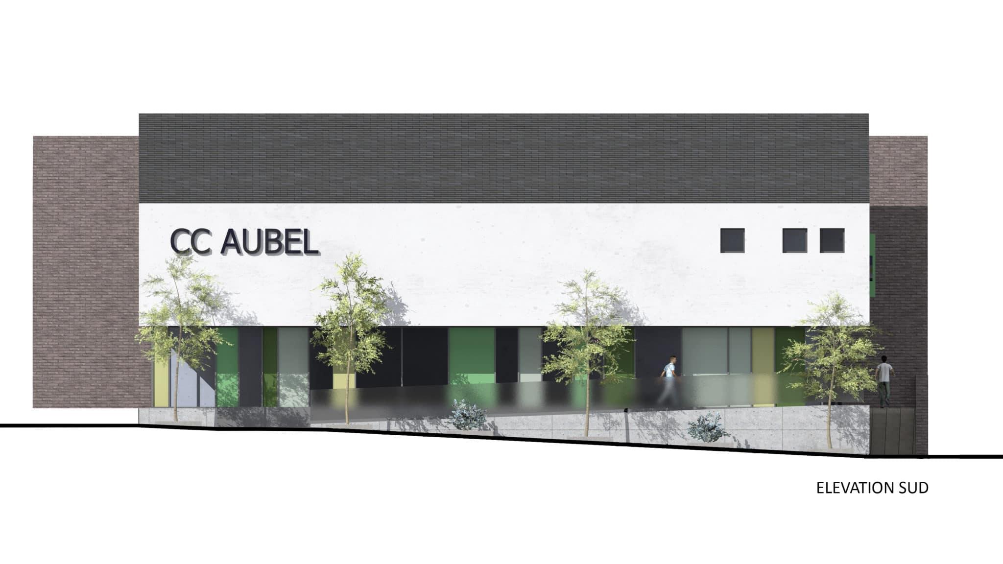 Aubel ELEVATION SUD